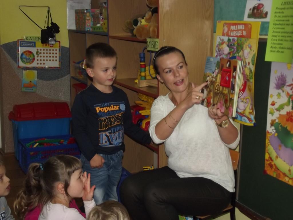 Pani Kasia odwiedziła nasze przedszkole