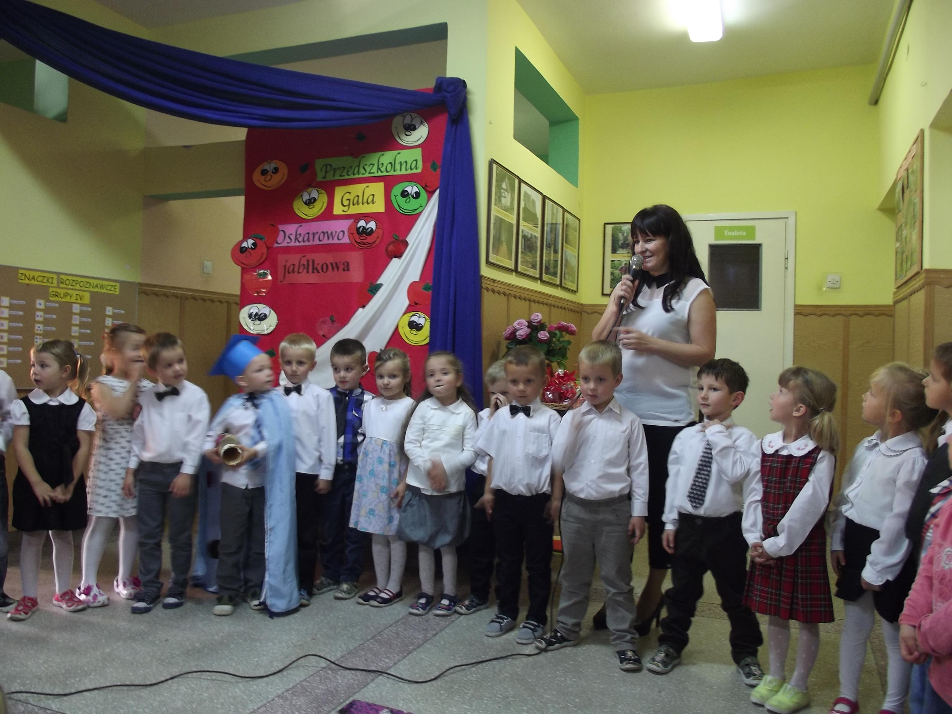 Przedszkolna Gala Oskarowo – Jabłkowa