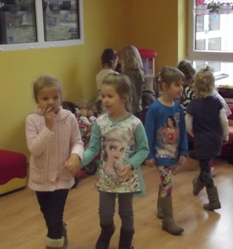Odwiedziny przedszkolaków w Lipnicy Murowanej