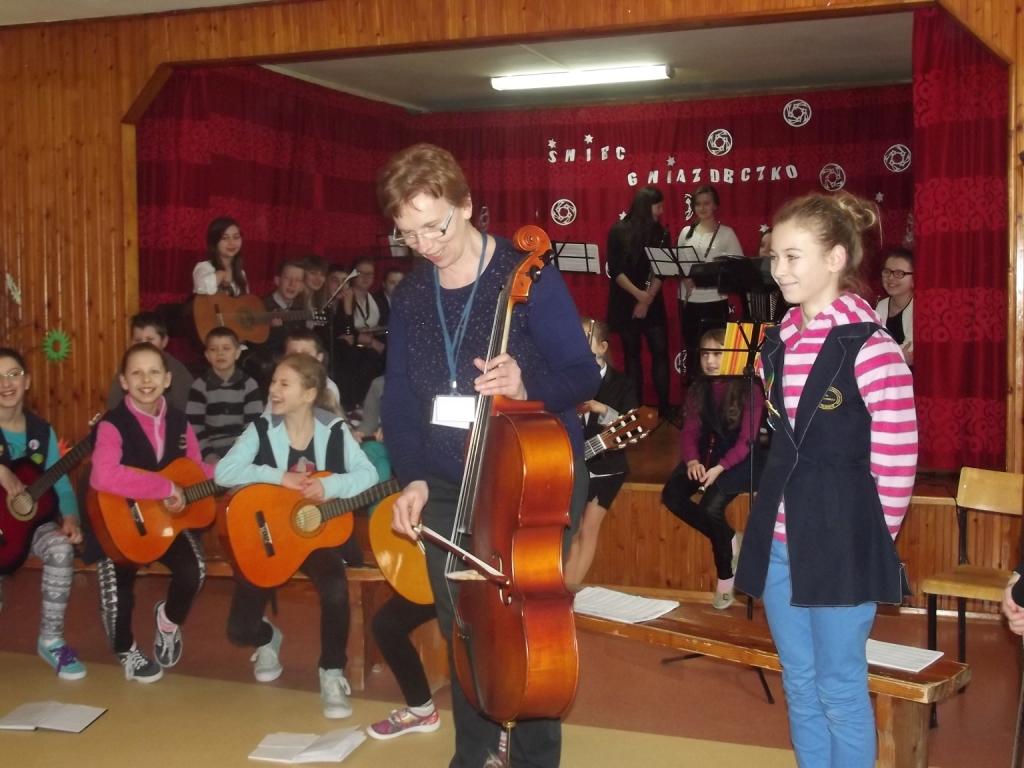 """""""Nietypowa"""" lekcja muzyki"""