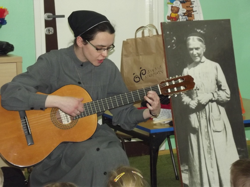 Odwiedziny siostry Joanny