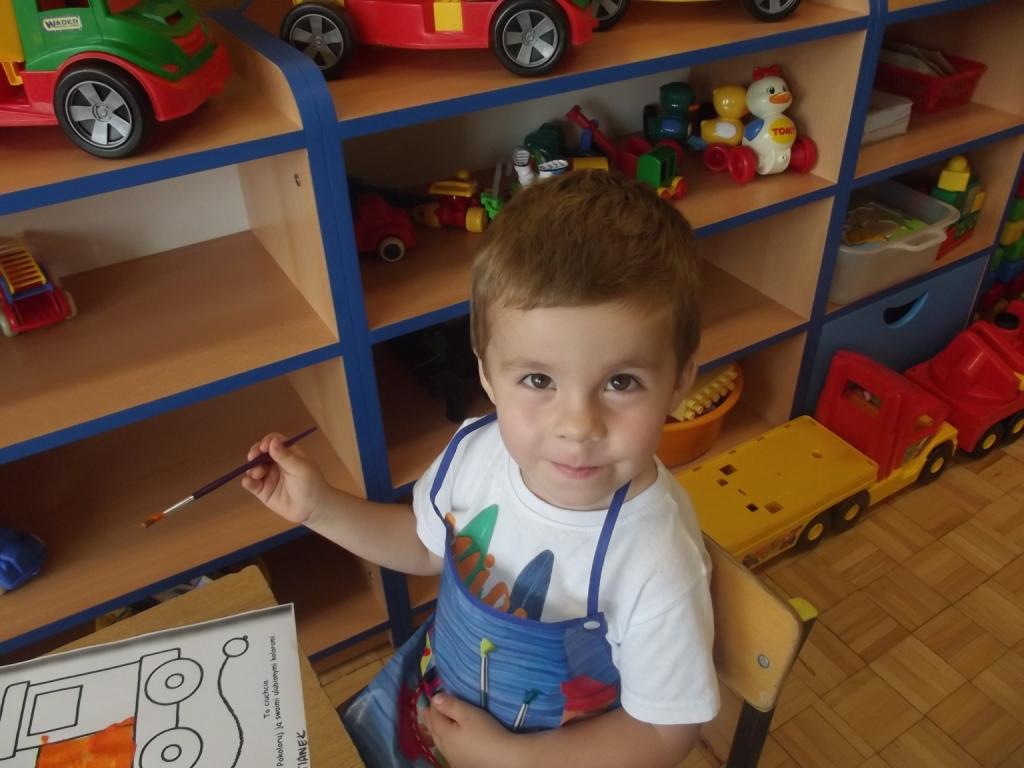 Pierwsze dni Maluszków w przedszkolu