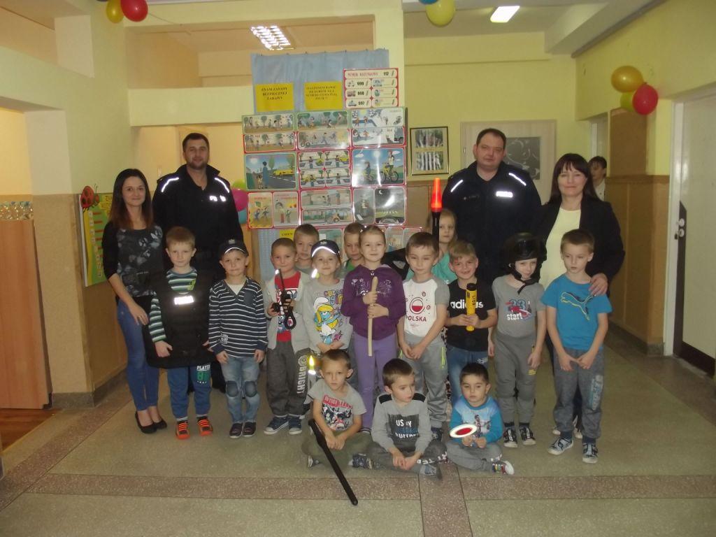 Wizyta Panów Policjantów w przedszkolu