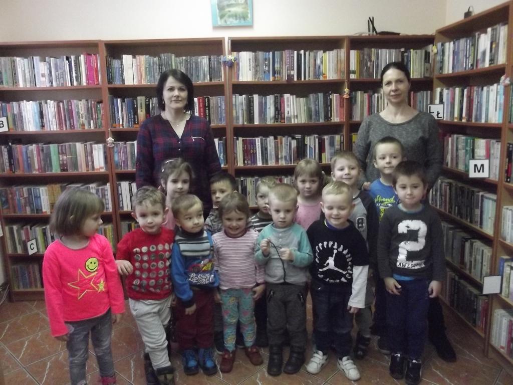 Kolejny raz z wizytą w bibliotece