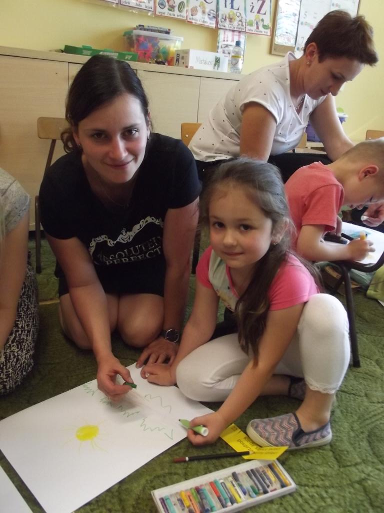 Zajęcia Otwarte dla Rodziców w grupie I i II