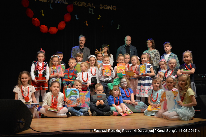 """Festiwal Polskiej Piosenki Dziecięcej """"KORAL SONG"""""""