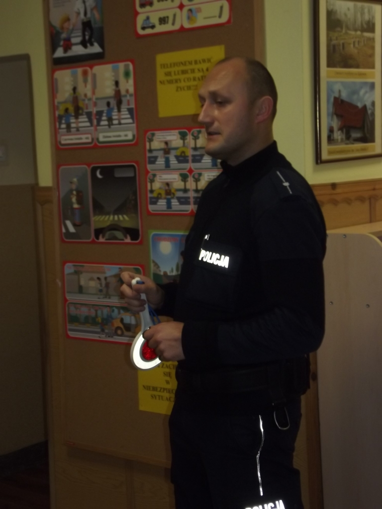 Pan Policjant w przedszkolu