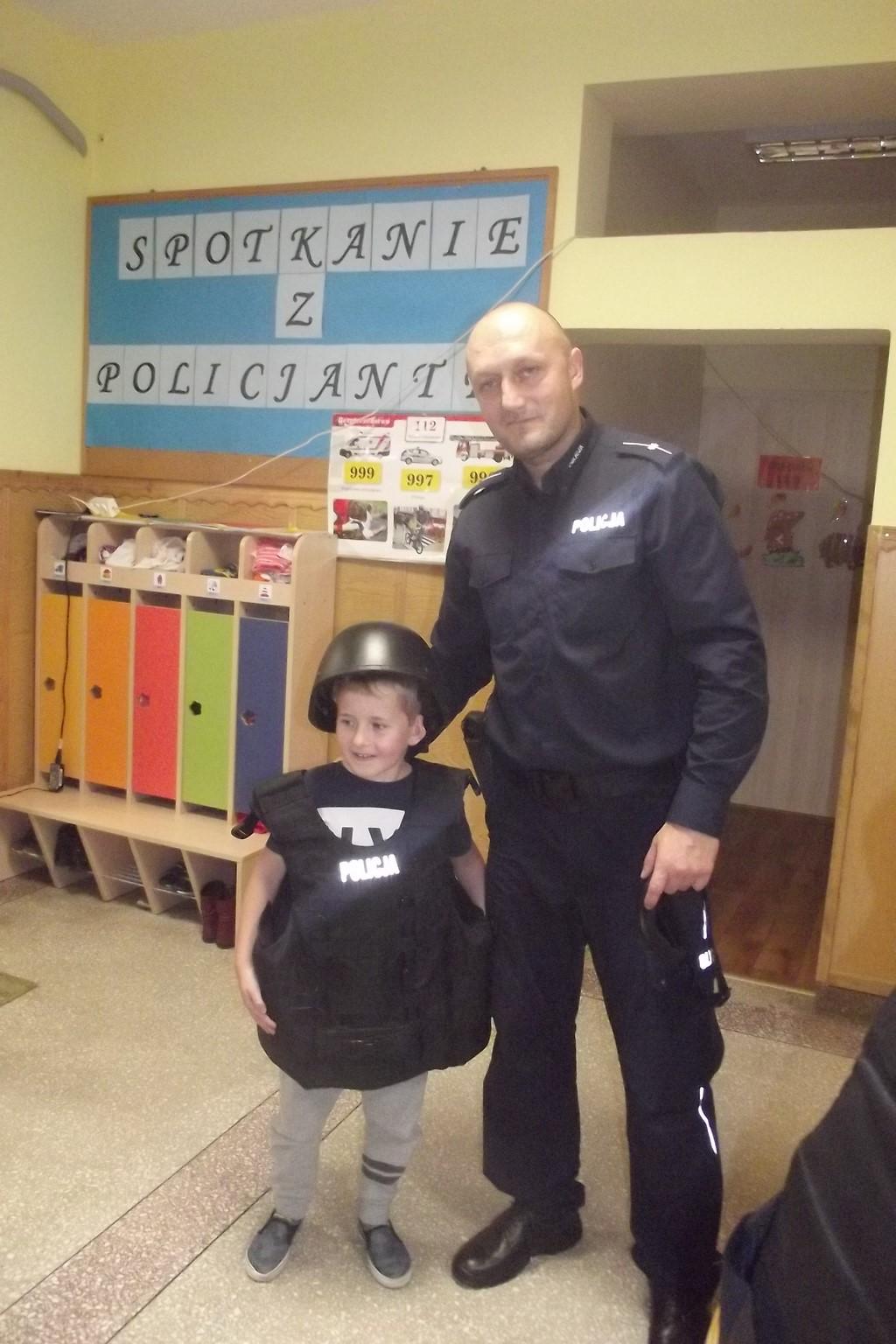 Spotkanie z policjantem