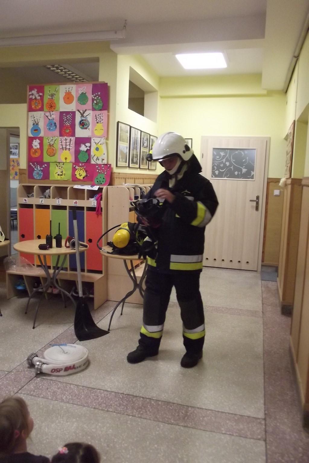 Spotkanie ze strażakiem