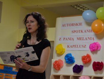 Autorskie spotkanie z panią Melanią Kapelusz