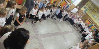 Przedszkolaki uczciły 101 rocznicę odzyskania niepodległości