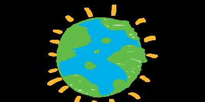 Przedszkolaki sprzątają świat.
