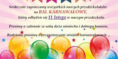 Bal Karnawałowy!!!