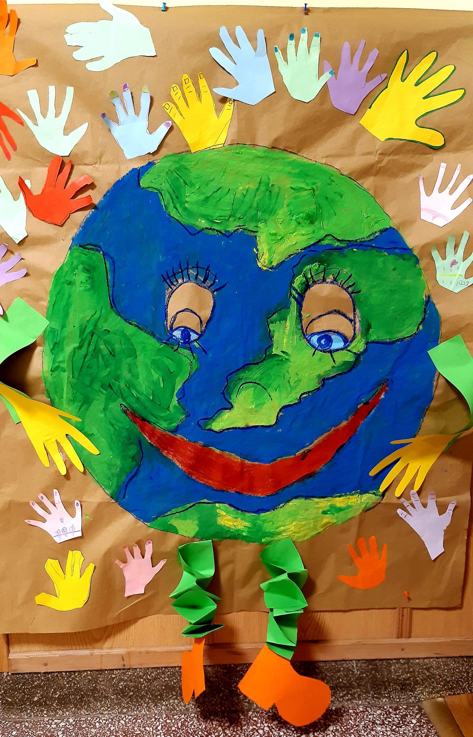 """22 kwietnia Międzynarodowy Dzień Ziemi """"Piękna Nasza Ziemia Cała""""."""