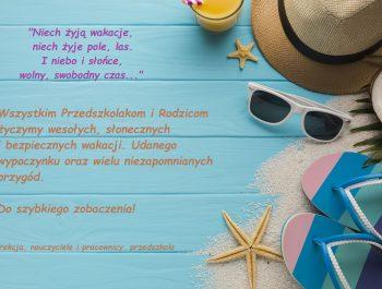Udanych wakacji!!!