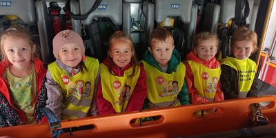 Wycieczka do Powiatowej Państwowej Straży Pożarnej w Bochni